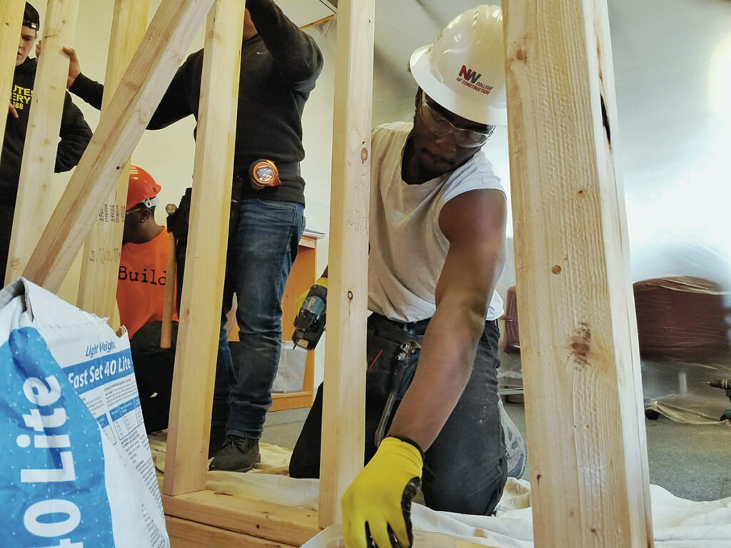 The Portland Opportunities Industrialization Center (POIC) works with more than 1,000 at-risk teenagers and young adults each year and in 2018 launched a new pre-apprenticeship program to complement its work through Rosemary Anderson High School and the Rosemary Anderson Transitions and Work Opportunities Training.